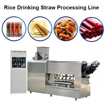 2020 Rice Pasta Wheat Disposable Drinking Straw Making Machine