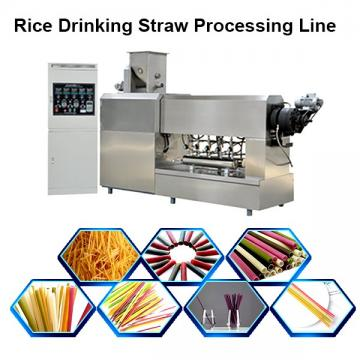 Automatic drinking straw extrusion machine