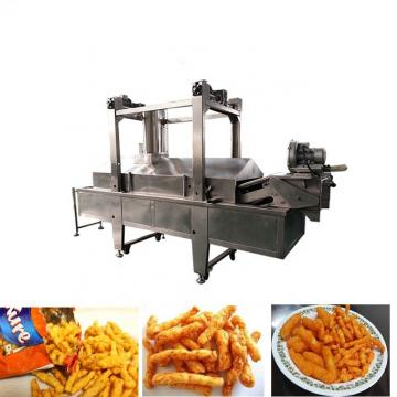 Extruded Corn Cheetos Snacks Food Plant Kurkure Processing Machine