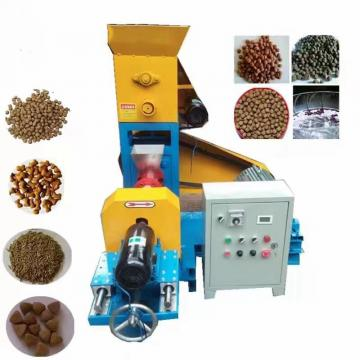 china jinan floating fish feed pellet making machine puff fish food extruder price production line