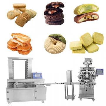 Cookies Production Line Cookies Biscuit Machine Factor Supplier Automatic Cookies Biscuits Stamping Machine Mooncake Production Line