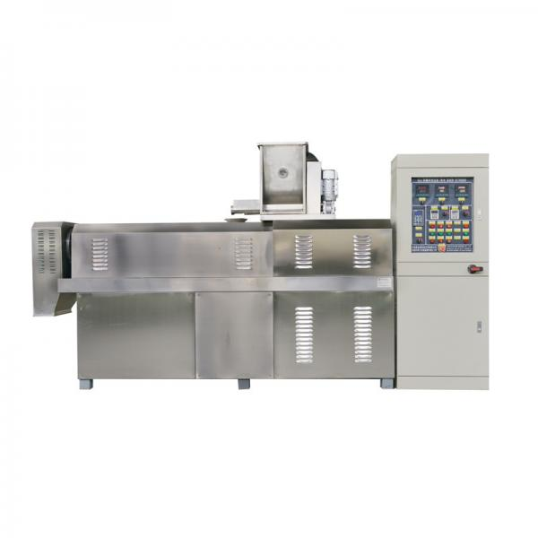 Factory Price Frying Puff Corn Snack Machinery Fried Wheat Flour Chips Bulking Machine Processing Line #2 image