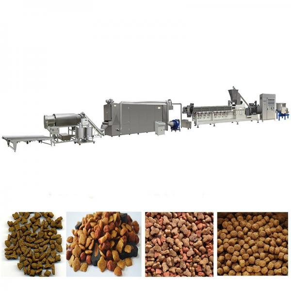 Automatic Double Screws Dog Food Animal Feed Processing Extrusion Equipment #1 image