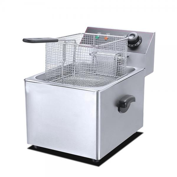Double Commercial Deep Fryer/Continuous Fryer/Potato Chips Fryer Machine Price #1 image