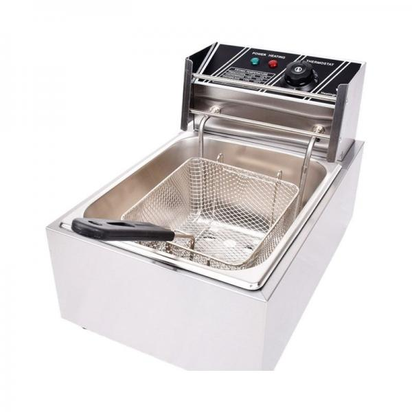 Cnix Good Feedback Deep Industrial Continuous Open Fryer Ofe-56A #1 image