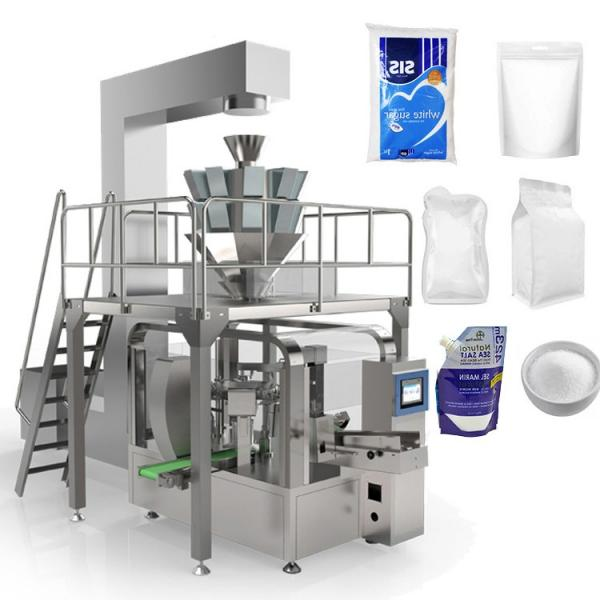 Automatic Granule Salt / Rice / Bean / Seed / Spice / Sugar Stick Sachet Food Packing Packaging Machine #1 image