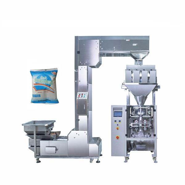 Factory Granular Packing Snack Foods Coffee Beans Seeds Rice Sugar Salt Grain Packaging Machine #1 image