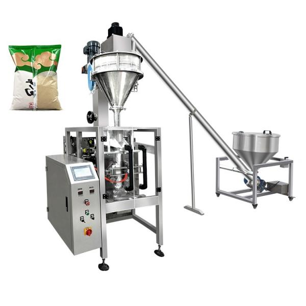 Automatic Maize Flour Bag Filling Packaging Machine with Auger Filler #1 image