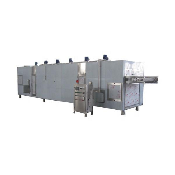 vacuum belt low temperature industrial pharmaceutical continuous freeze dryer with CIP Cleaning System #3 image