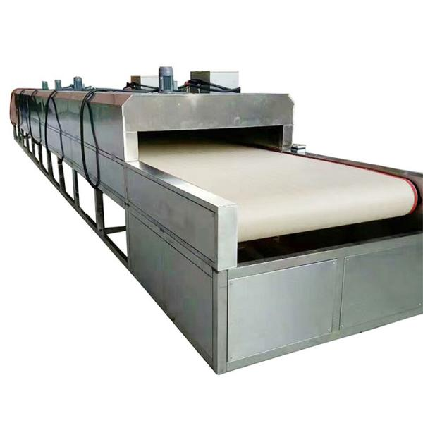 vacuum belt low temperature industrial pharmaceutical continuous freeze dryer with CIP Cleaning System #1 image