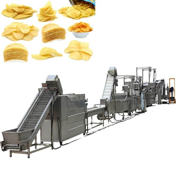 full automatic semi-automatic potato pringles chips machine production line #2 image