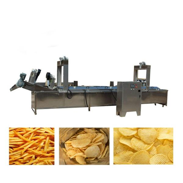 Low cost semi automatic vertical form fill seal apple chips bag packing machine manufacturer price #1 image