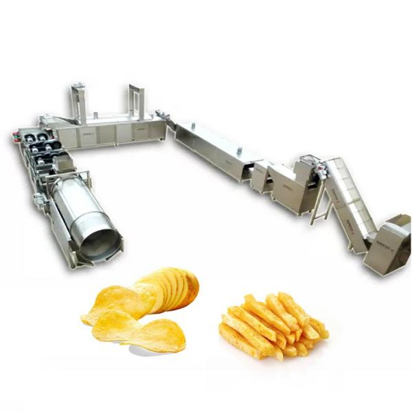 full automatic semi-automatic potato pringles chips machine production line #1 image