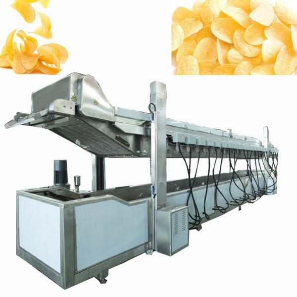 full automatic semi-automatic potato pringles chips machine production line #3 image