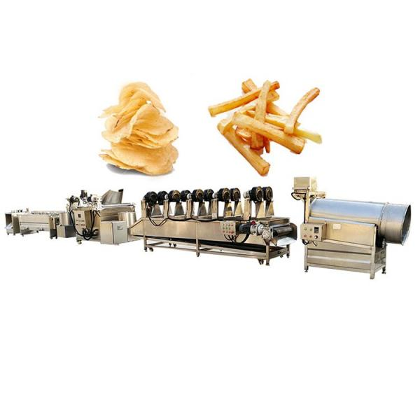 Fully Automatic Industrial Frozen French Fries Production Line Cassava Fresh Finger Potato Chips Making Machine Price #1 image