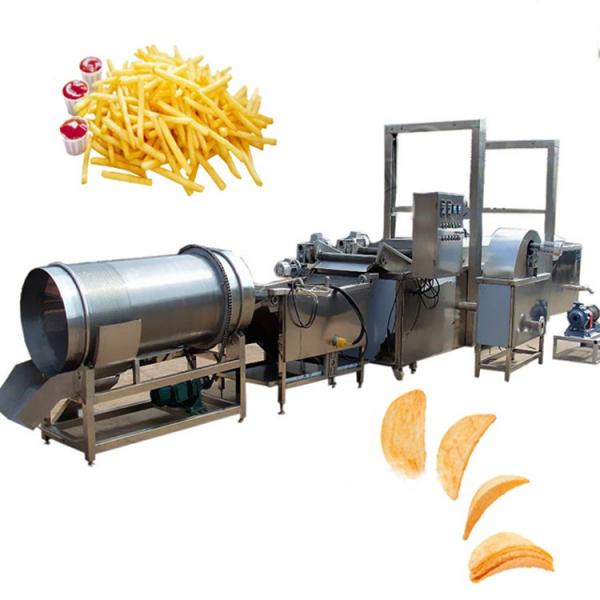 Fully Automatic Industrial Frozen French Fries Production Line Cassava Fresh Finger Potato Chips Making Machine Price #3 image