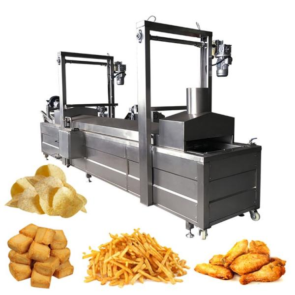 Hot Selling Automatic Oil Film Continuous Food Snack Fryer #1 image