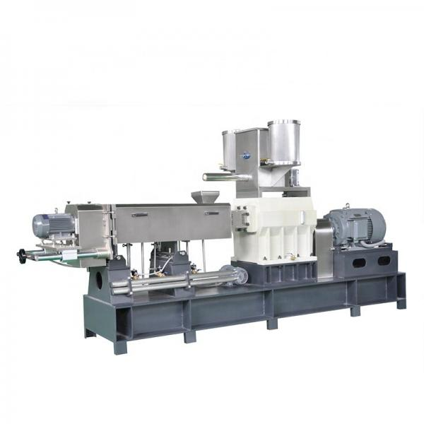 Automatic Double Screws Dog Food Animal Feed Processing Extrusion Equipment #2 image